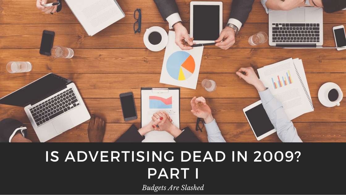 Graphic for a blog about whether the advertising agency is dying or being reborn in Calgary