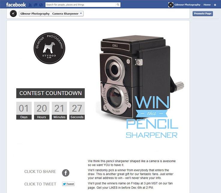 Designer Camera Pencil Sharpener Giveaway