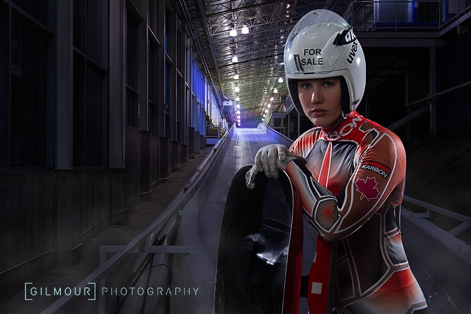 PR Photo of Alex Gough, olympic luge team