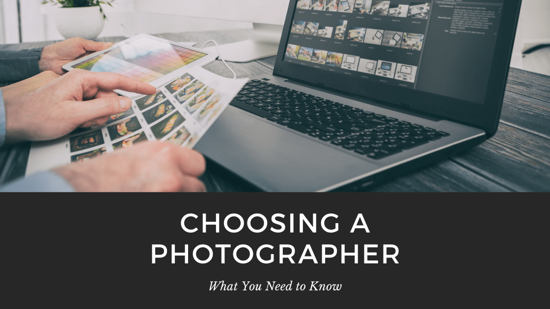 graphic about choosing a photographer in calgary