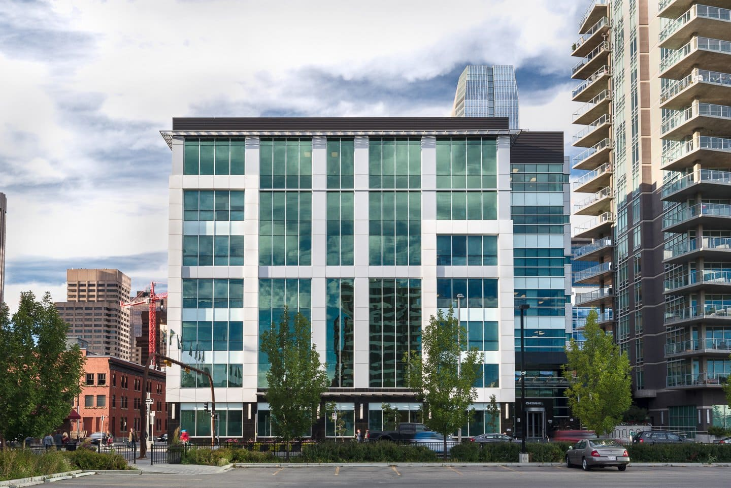Real Estate Photography of a commercial building in Calgary