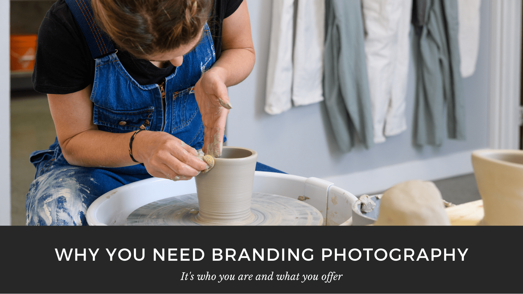 Professional branding photography for Mud Urban Potters in Calgary, Alberta by Brett Gilmour