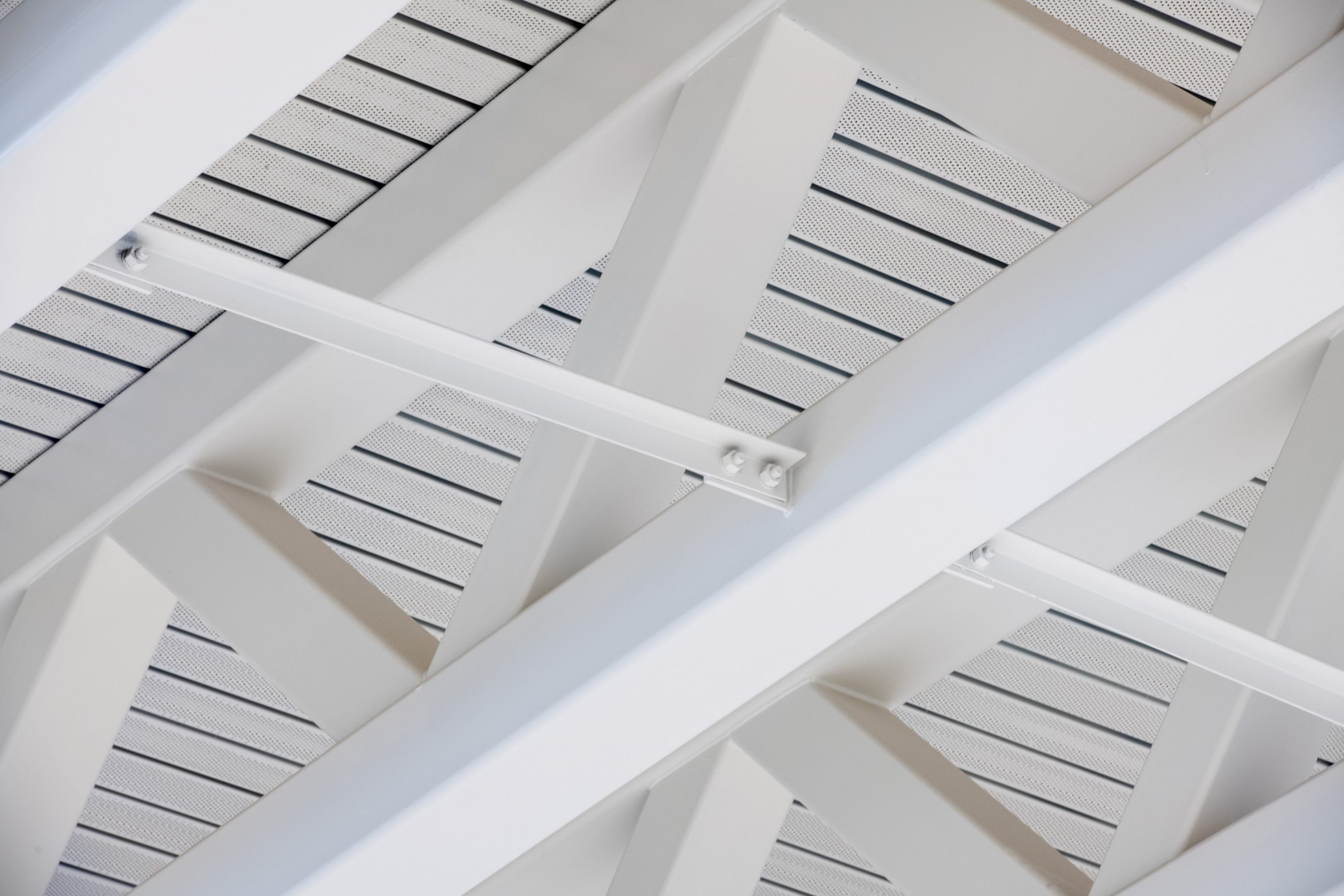 Photo of an architectural detail image of a metal roofing system in Calgary, Alberta.
